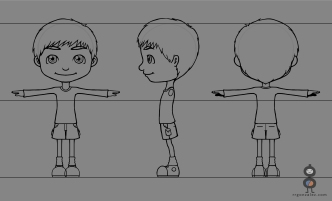 WILD IMAGINATION - Davy 2D Turnaround