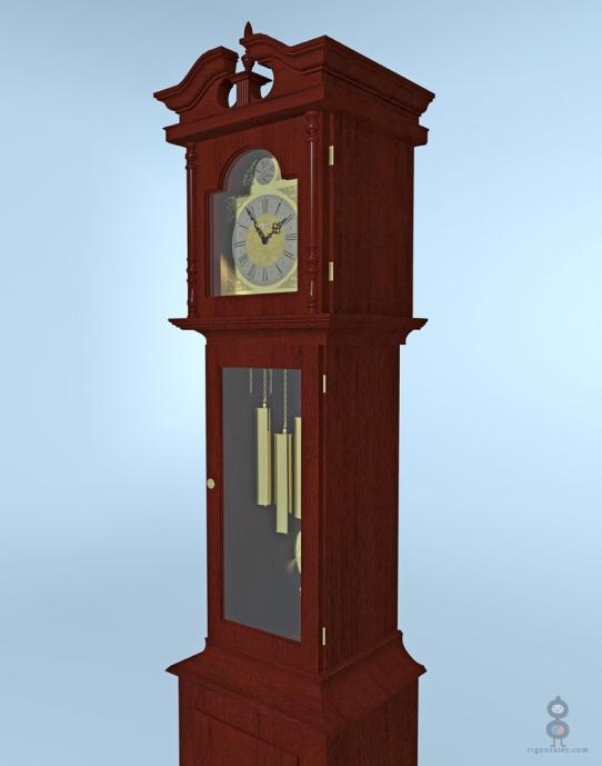 Howard Miller Grandfather Clock Exterior