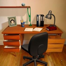 3D Desk Item Composite