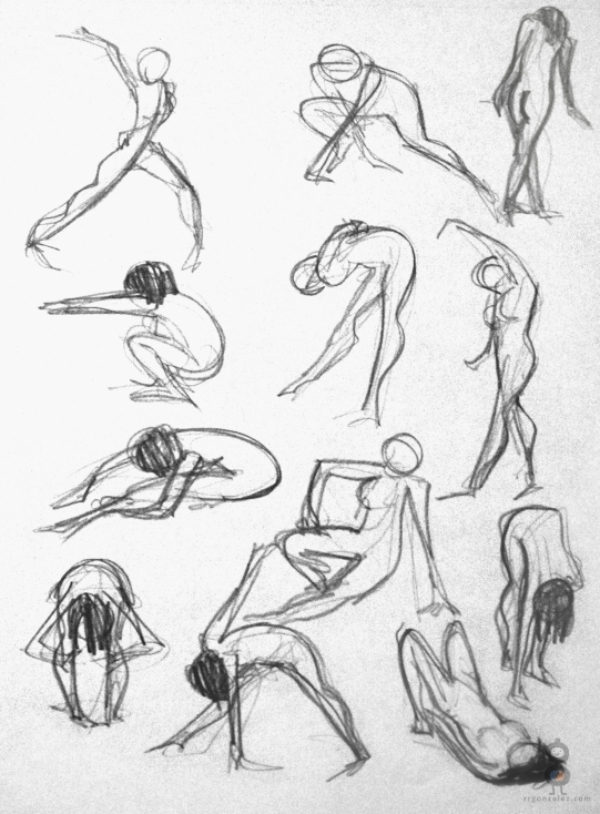 Gesture Study Page I