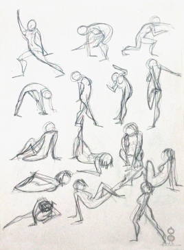 Gesture Study Page III