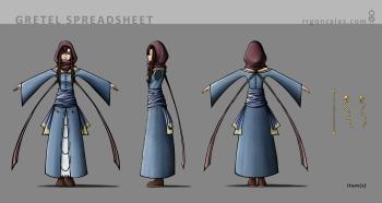 HANSEL & GRETEL - Gretel Character Spreadsheet