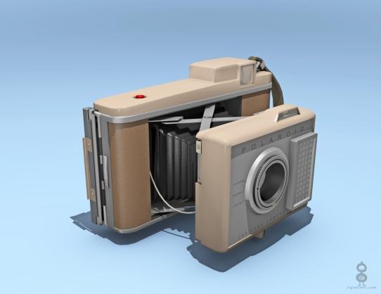 Polaroid J33 Camera - Front