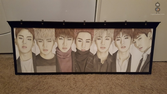 MONSTA X PORTRAITS - Install Lights