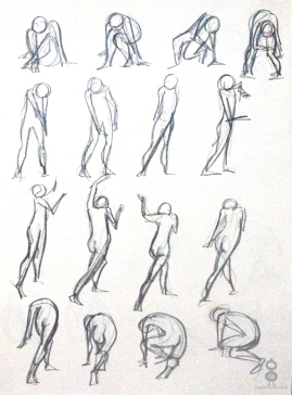 Gesture Study Page IV