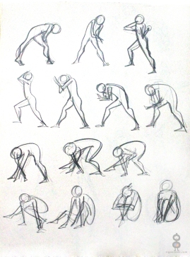 Gesture Study Page V